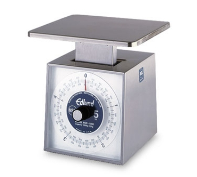 Edlund MSR-5000 OP Top Loading Counter Top Metric Portion Scale 5000 gm x 20 gm