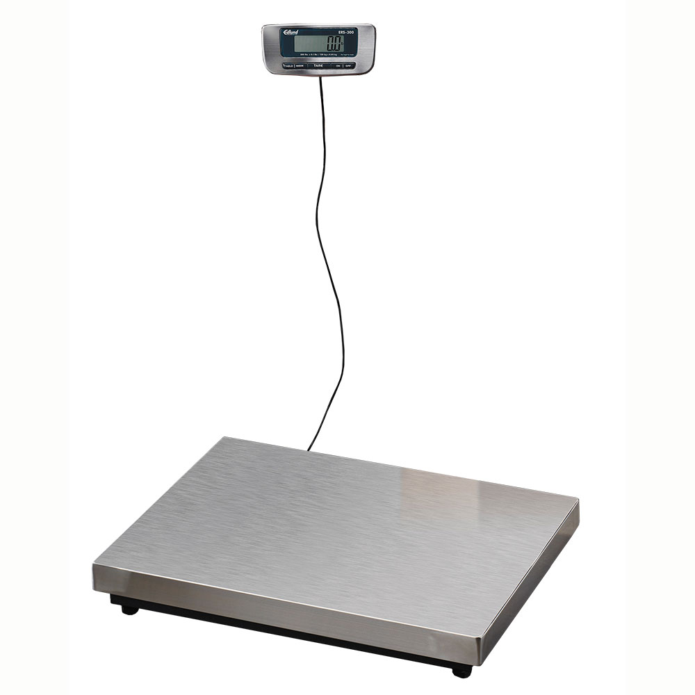 Edlund ERS-300 Digital Receiving Scale, 300 lbs x 20 in Platform