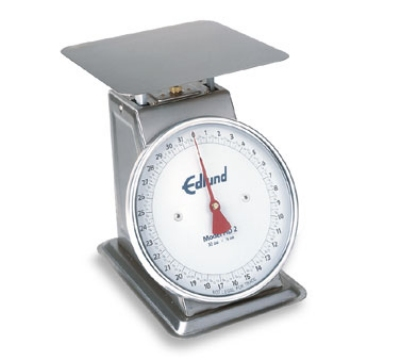 Edlund HD-5 DP Dial Type Portion Scale w/ Air Dashpot & Sloped Face, Top Load, Stainless