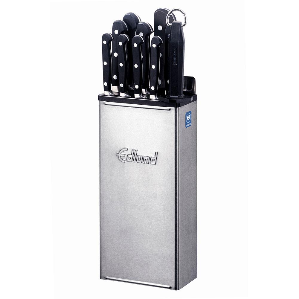 Edlund KR-50 Knife Rack w/ 12-in Skirt & Stainless Back Plate, Dishwasher Safe