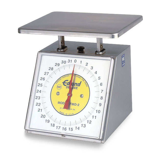 Edlund RM-5 Portion Dial Type Scale 5 lbs x 1/2 oz Top Loading Counter Model