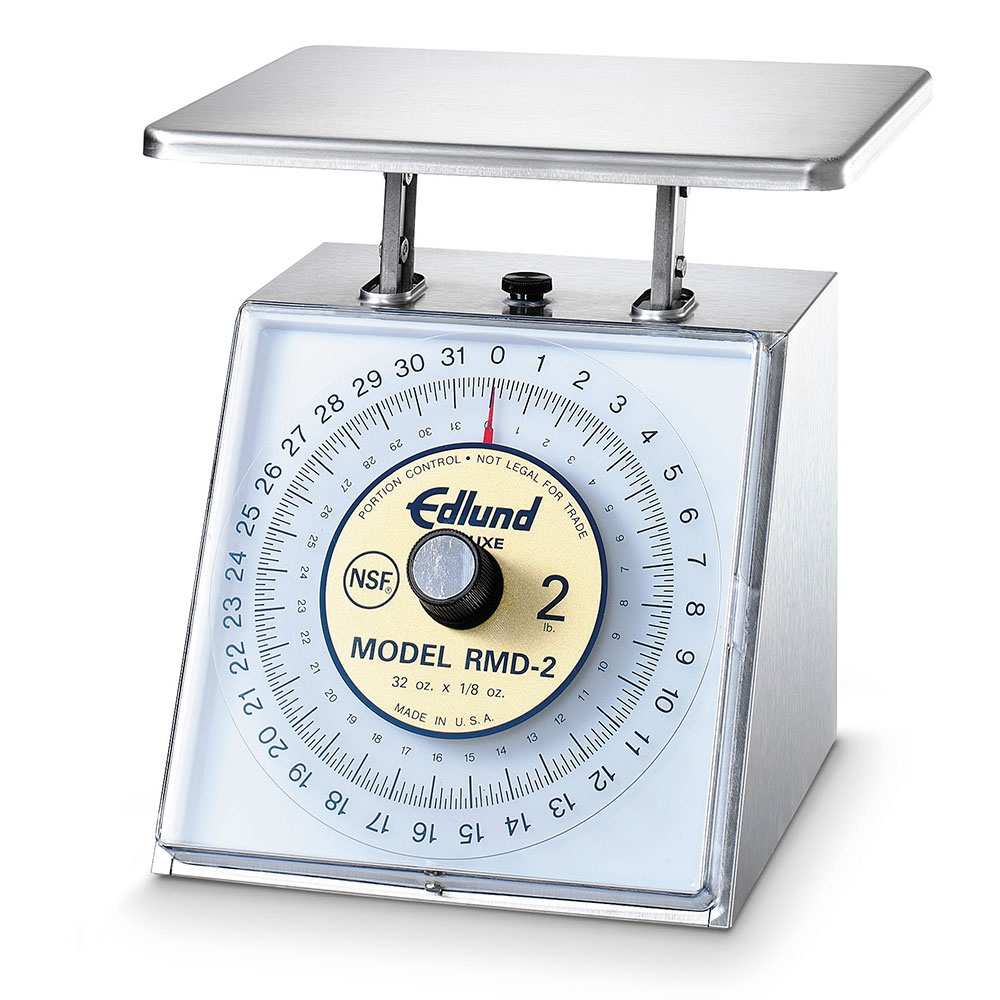 Edlund RMD-2 Rotating Scale 32 oz x 1/8 oz, Dial Type, w/ Air Dashpot