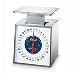 Edlund SF-2 Fixed Dial Vertical Face Scale, 32 oz x 1/4 oz Portion