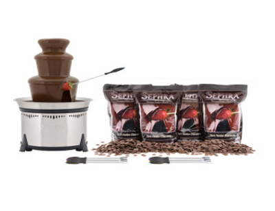 Sephra 10524 Classic Dark Package w/ CF18L, 8-lb Premium Chocolate & 6-Skewers