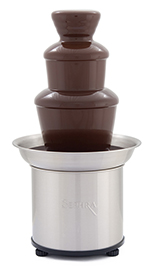 "Sephra 17302 16"" Select Fountain w/ Motor & Heat Switches, 4-lb Chocolate Capacity"