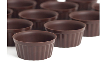 Sephra 26032 Belgian Chocolate A La Carte Cups w/ 1-oz Capacity, Imported, 192-cups