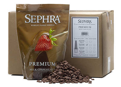 Sephra 28005 Premium Milk Fondue Chocolate, Fountain Read...