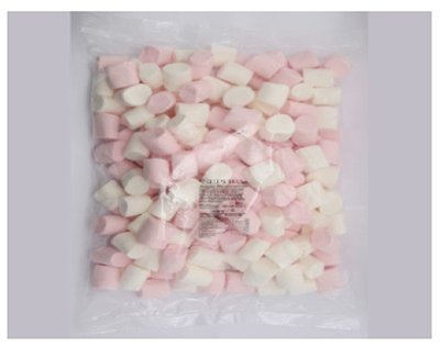 Sephra 30026 2.2-lb Belgian Pink & White Marshmallows, Imported