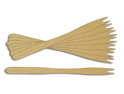 Sephra 31000 Forked Wooden Skewer