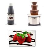 Sephra 33029 Liquid Chocolate Dessert Topping & Fondue, Imported, .75-L Bottle