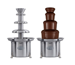 Sephra CF34R4 34-in Chocolate Fountain w/ Carrying Cases & Removable Basin, 20-lb Capacity
