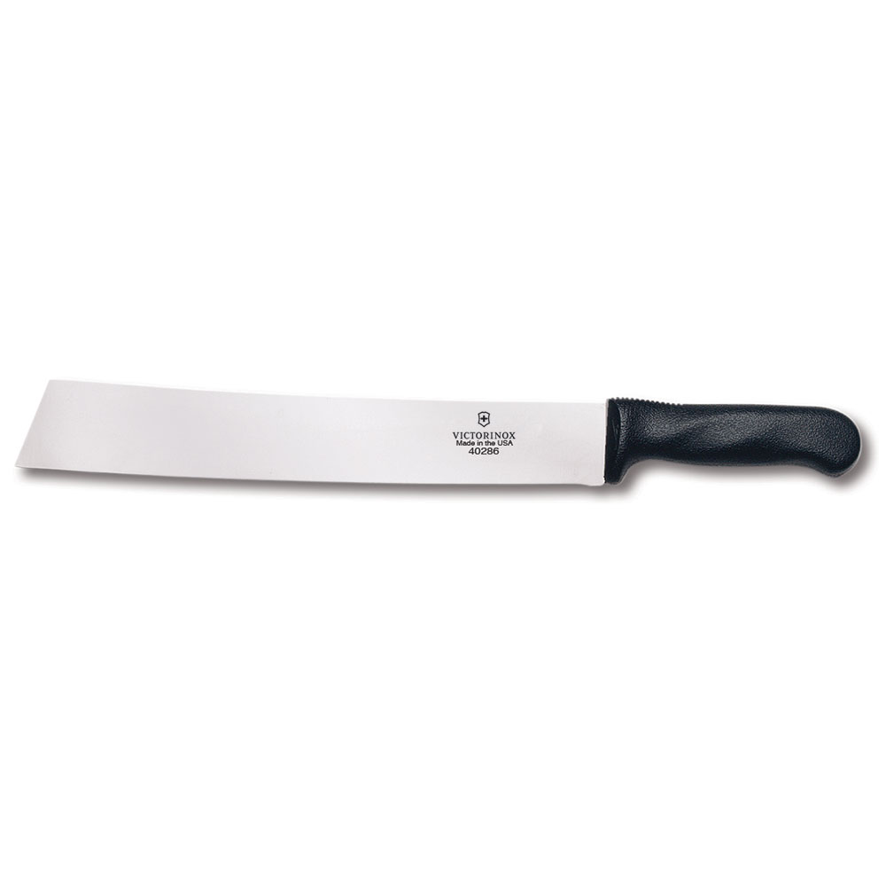 "Victorinox - Swiss Army 40286 Watermelon Knife w/ 12"" Blade, Black Polypropylene Handle"