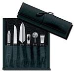 Victorinox - Swiss Army 46550 6-Piece Garnishing Kit w/ Black Polypropylene Handles