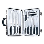 Victorinox - Swiss Army 46552 14-Piece Executive Culinary Knife Set w/ Black Case