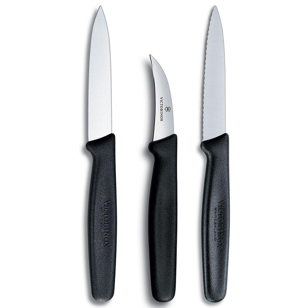 Victorinox - Swiss Army 48042 3-Piece Paring Knife Set w/ Polypropylene Handles