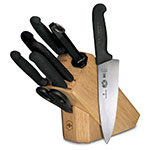 Victorinox - Swiss Army 48891 8-Piece Slant Block Set w/ (5) Knives, (1) Steel, (1) Shear
