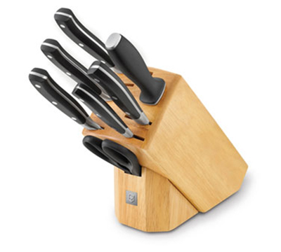 Victorinox - Swiss Army 7.7243.8 8-Piece Knife Block Set, Forged