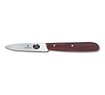 "Victorinox - Swiss Army 47100 Paring Knife w/ 3.25"" Blade, High Carbon Steel, Rosewood Handle"