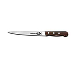 "Victorinox - Swiss Army 40311 Straight Fillet Knife w/ 7"" Flexible Blade, Rosewood Handle"