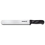 Victorinox - Swiss Army 40633 10-in Slicer Knife w/ Plastic Handle, Granton Edge