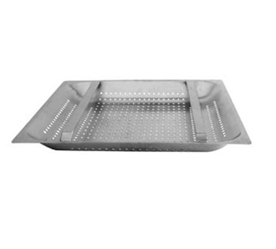 "Franklin Machine 1021151 Pre-Rinse Basket for 20x20 Rack or 21.75x21.75"" Sink, 4"" Diameter"