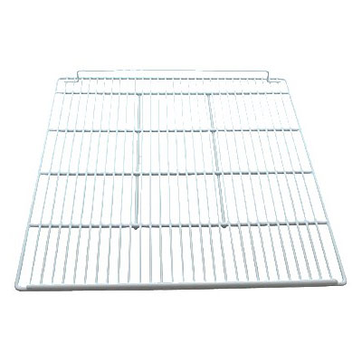 "Franklin Machine 124-1470 Epoxy-Coated Wire Shelf for Turbo Air TSR Series Refrigerators, 22"" x 23.5"", White"