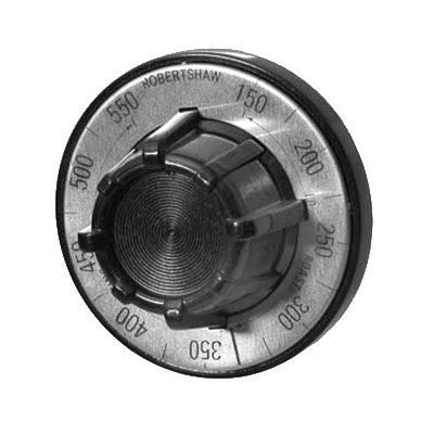 Franklin Machine 130-1013 Thermostat Dial w/ 150° to 550°F Range for Blodgett, Vulcan, & Garland Ovens