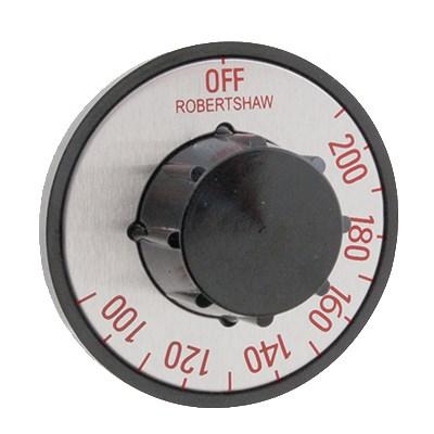 Franklin Machine 130-1058 Electric Thermostat Dial w/ 100° to 200°F Range for APW Wyott Food Warmers