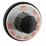 Franklin Machine 130-1062 Electric Thermostat Dial w/ 175° to 550°F Range for APW Wyott Toasters