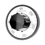 Franklin Machine 130-1063 Electric Thermostat Dial w/ 300° to 700°F Range for Bakers Pride Pizza Ovens