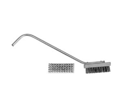 Franklin Machine 133-1174 Broiler Grill Brush w/ 24-in Handle, Heavy Duty Medium Bristles