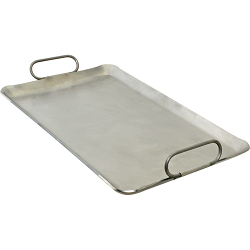 """Franklin Machine 133-1626 Lift-Off Griddle, Fits Two Burners, 12"""" x 20"""", Steel"""