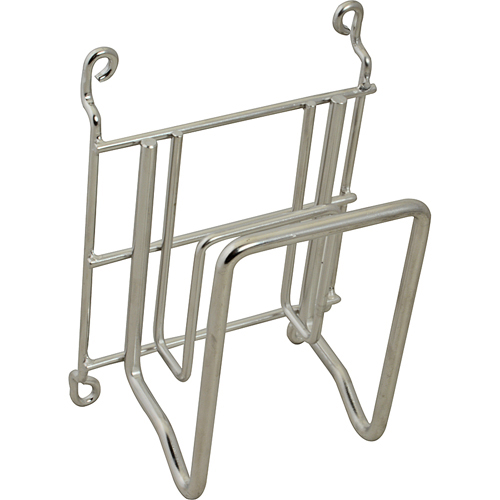 "Franklin Machine 133-1646 Stock Pot Holder - 9.5"" x 6.5"" x 4.25"", Stainless Steel"