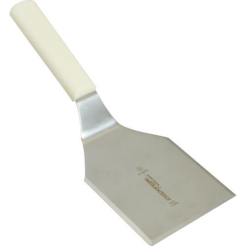 """Franklin Machine 137-1367 Chicken Turner, 4"""" x 4.25"""" Stainless Blade, White Handle"""