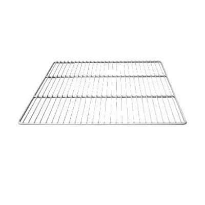 """Franklin Machine 145-1035 Epoxy-Coated Wire Shelf for Randell Refrigerators & Freezers - 25.38"""" x 22"""", Gray"""
