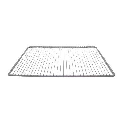 "Franklin Machine 145-1052 Epoxy-Coated Wire Shelf for Randell 9404, 9603, & 9604 Series Refrigerators - 14"" x 22"", Gray"