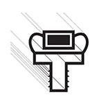 "Franklin Machine 145-1084 Drawer Gasket for Randell 20000 Series Refrigerators, 16.75"" x 7.25"""