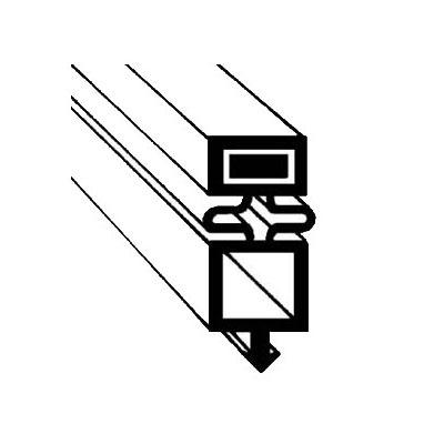 "Franklin Machine 148-1044 Gasket for True Refrigerators & Freezers, 25.63"" x 25.87"""