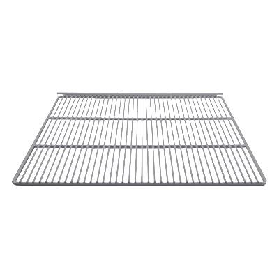 """Franklin Machine 148-1051 Epoxy-Coated Wire Shelf for True Refrigerators & Freezers - 23.25"""" x 22.87"""", White"""