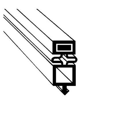 "Franklin Machine 148-1057 Gasket for True Bar Refrigerators, 21.25"" x 31.25"""