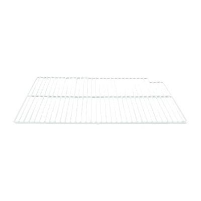 "Franklin Machine 148-1065 Right-Side Epoxy Coated Wire Shelf for True Refrigerators & Freezers - 16"" x 21.56"", White"