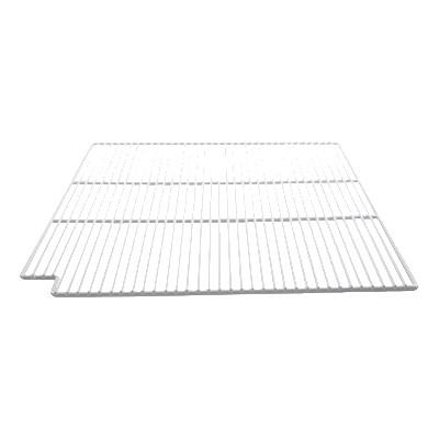 "Franklin Machine 148-1082 Epoxy-Coated Wire Shelf for True Refrigerators & Prep Tables - 28"" x 23.63"", White"