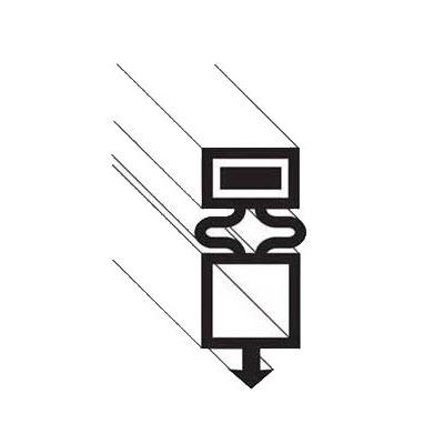 "Franklin Machine 148-1086 Drawer Gasket for True TR1R/F, 27.75"" x 30.75"""