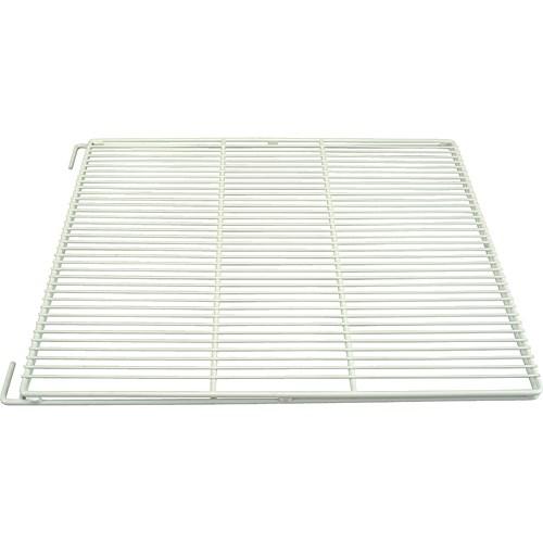 "Franklin Machine 148-1202 Epoxy-Coated Wire Shelf for True TA, TG2R, 2DT, & 2F Series Refrigerators - 28.68"" x 23.5"", White"