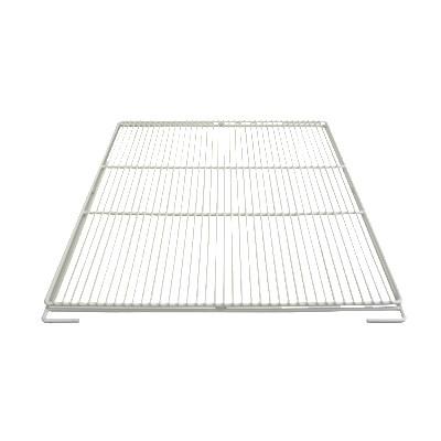 """Franklin Machine 148-1207 Epoxy-Coated Wire Shelf for True TA1R-1S, TA3R-3S, TG1R-1S, TG3R-3S Models - 28.75"""" x 25"""", White"""