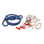"Franklin Machine 157-1154 36"" Gas Connector Hose Kit"