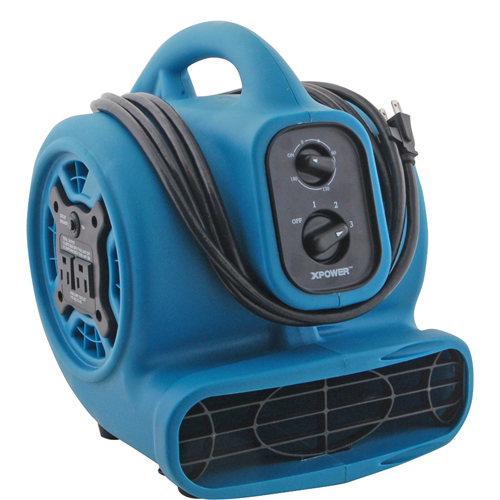 Franklin Machine 159-1170 Mini Floor Air Dryer, 3-Speed, 1/5 HP, 115v