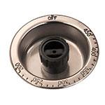 """Franklin Machine 160-1303 3.25"""" Knob for APW Wyott EGD-48 & EGD-72 Griddles, Stainless Steel"""