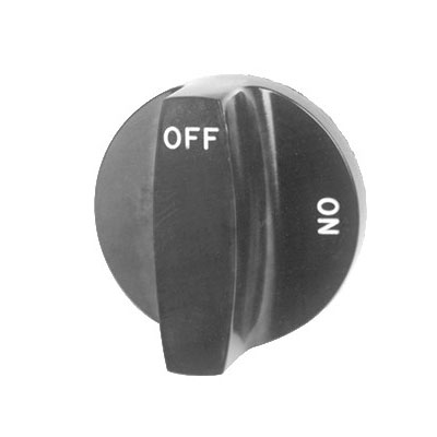 "Franklin Machine 166-1069 2.5"" Valve Knob for Southbend Griddles"