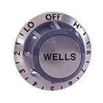 Franklin Machine 173-1095 Thermostat Dial for Wells Food Warmers, Aluminum